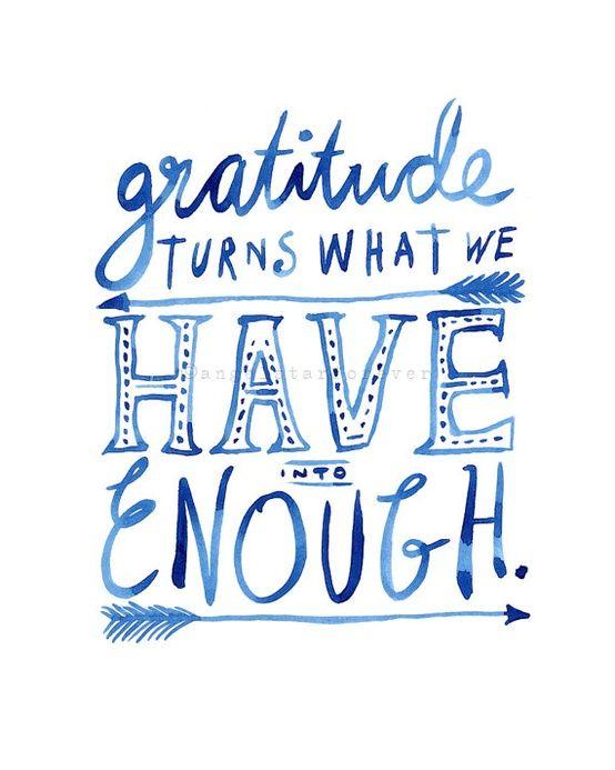 Being Grateful Everyday